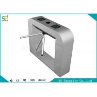 Semi Electronic Waist Height Turnstiles Infrared Control With RS485 Manufactures