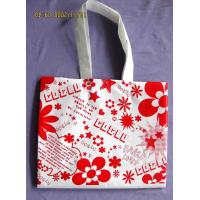 Popular Small PP Shopping Bags with Flora Printed for Advertisement Manufactures