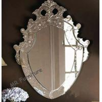 Modern Art Venetian Wall Mirror 4mm Thickness Wall Mirror Long Life Span Manufactures
