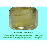 Powerful Semi-Finished Blend Anabolic Steroid Oil Nandro Test 225 mg/ml Manufactures