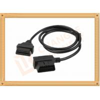 Male To Female OBD Extension Cable Custom For Automotive CK-MF16D01L Manufactures