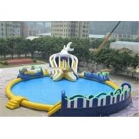 Quality Outdoor Inflatable Family Swimming Pool For Kids , PVC Tarpaulin for sale