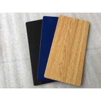 Outdoor Wall Panels Aluminium Plastic Sheet Heat Insulation With 2 Meters Width Manufactures