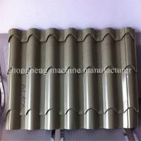 Color Steel Plate Rolling Machine , Aluminium Glazing Roof Tile Roll Forming Machine 18 Rows Manufactures