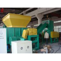 Aluminum Castings Profiles plastic waste shredding machine / single shaft shredder Manufactures