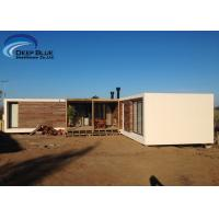 China Steel Structure Modern prefabricated Houses , Uruguay Bungalow Home Plans on sale