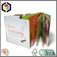 Spiral Binding Color Printing Brochure; A4 Size Brochure Book Print Service Manufactures