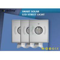 All In One Integrated Solar Powered Road Lights , 18V 18W Solar Panel Garden Lights Manufactures