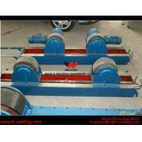 Conventional 10 Ton Tank Welding Rotators for Boiler Industry , PU Roller Turning Rolls Manufactures