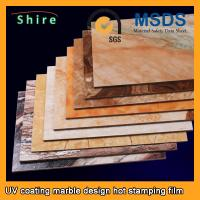 PET Heat Transfer Film Hot Stamping Foil Roll With Strong Covering Power Manufactures