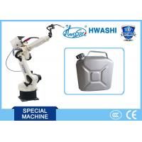 AC Servo Driving 6 AXIS Industrial Robots , CNC Robotic Welding Machine For Jerrycan Manufactures