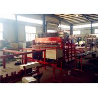 High Speed Steel Rebar Welding Machine , Wire Mesh Welding Line Anticorrosive Manufactures