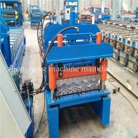 2 - 3 M / Min Speed Glazed Tile Roll Forming Machine for Making Steel Plate Manufactures