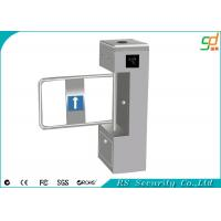 Out Door Heavy Duty Automatic Turnstiles , Stainless Steel ID Card Swing Barriers Manufactures
