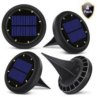 0.07w Solar Powered LED Ground Lights Solar Ground Buried Light Four Colors Manufactures