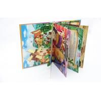 OEM Custom Pop Up Full Color Book Printing With 128gsm / 157 Glossy Art Paper Manufactures