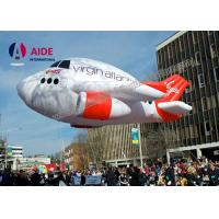 Oxford Cloth Fly Air Plane Blow Up Advertising With CE Blower For Promotion Manufactures