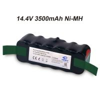 Buy cheap 14.4V 3.5Ah Ni-MH Vacuum Battery for iRobot Roomba 500Series 510 530 531 532 533 535 536 540 545 550 552 560 562 570 580 from wholesalers