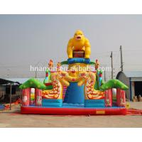 Large Outdoor gorilla design Kids Funland Inflatable Sports Games Inflatable Fun City
