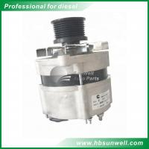 Original/Aftermarket High quality DCEC 6BT5.9 Diesel engine parts 12V 95A Alternator Generator 3972730 Manufactures