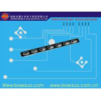 Medical Industry LED Tactile Membrane Switch In Dark Environment Manufactures