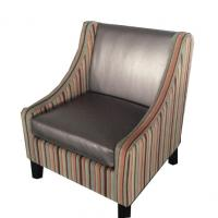 Hotel fabric lounge chair ,single sofa LC-0014 Manufactures