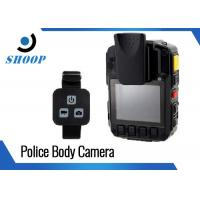 Security Guard Police Body Cameras , 32GB Bluetooth Body Camera Battery Life Long Manufactures
