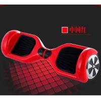 Red 2 Wheel Stand Up Electric Balancing Board , Smart Drifting Scooter Manufactures