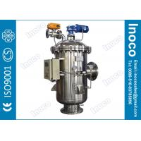 BOCIN ISO9001 Stainless Steel Automatic Self Cleaning Filters With Brush Washing Manufactures