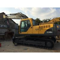 Long Reach Used Volvo Excavator EC240BLC 19.8ft Digging Depth With 6 Cylinders Manufactures