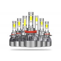 High Efficiency Automotive LED Light Bulbs 50 Watts With Fan Heat Dissipation Manufactures