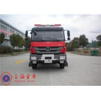 Six Seats Emergency Fire Pumper Truck , Direct Injection Engine Industrial Fire Truck Manufactures