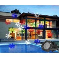 RGBW Snowflake led laser light IP65 Outdoor holiday decoration lamps Manufactures