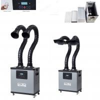 Remote Control Industry Soldering Fumes Extractor Machine Digital Display Manufactures