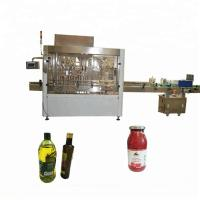 PLC Control PET Bottle Filling And Capping Machine For Tomato Paste / Hot Sauce Manufactures