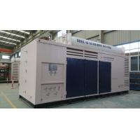 Reciprocating CNG Station Compressor , Full Air Cooling Natural Gas Compressor Station Manufactures