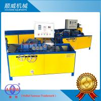 Classical Type Manual Chain Link Fence Machine Curve Edge / Twist Edge Manufactures