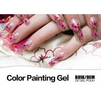 Harmless Gel Nail Paint Polish Strong Adhesion MSDS / SGS Authentication Manufactures