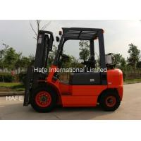CQCD25 2.5T Propane Fuel System Forklift , Fork Lift Trucks With 3 Stage 5m Container Mast Manufactures