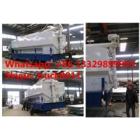 factory sale cheapest price 15tons-20tons animal feed transported tank, high quality cheapest bulk feed transported tank Manufactures