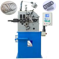 Blue Wire Spring Making Machine230pcs / Min Fast Speed With 100KG Decoiler Manufactures