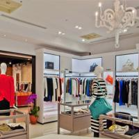 Design Clothing Store with Clothing Display Racks Manufactures