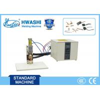 Battery Tab Small Spot Welding Machine , AC Resistant Mini Spot Welder Manufactures