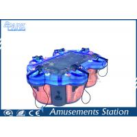 Coin Operated amusement fishing game machine for 6 children 850W Manufactures