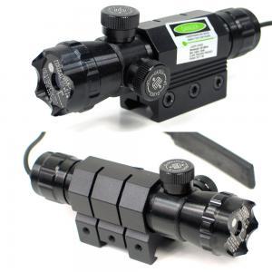 Dot Spot Tactical Flashlight Laser / Tactical Green Laser Flashlight Combo Manufactures