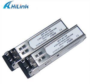 China 550m Fiber Optical Sfp Module 4.25G 850nm 550m Sr Sfp Support DDMI Function on sale