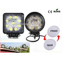 27w Led Truck Work Lights IP67 Waterproof 4.3 Offroad Led Work Light Manufactures