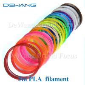 China Markerbot pla plastic 3d printing filament materials , polylactic acid filament on sale