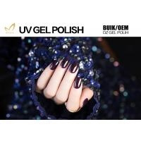 Glitter Powder Sparkle Gel Nail Polish , Platinum Glitter Led Gel Nail Polish No Fade Manufactures