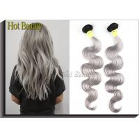 White Hair Extensions 5A Virgin Brazilian Hair Double Machine Weft 3.5 OZ Manufactures